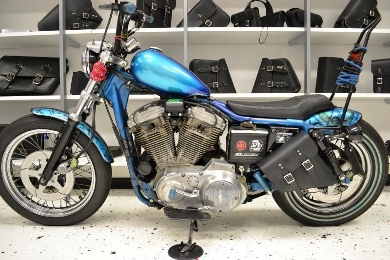 Sportster Left Solo Bag SL02