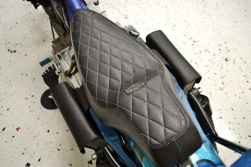Sportster Dyna Throw Under Seat Bags DTU05
