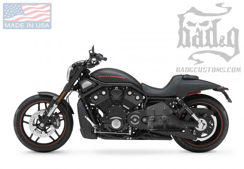 V-Rod Left Solo Bag VRL031