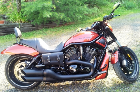 V-Rod Throw Under Seat Bags VTU01