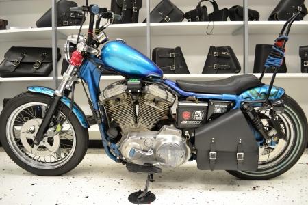 Sportster Left Solo Bag SL013