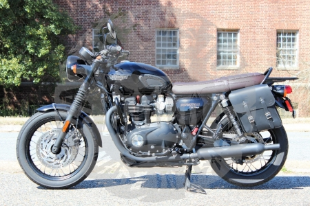 Triumph Bonneville T100 T120 Left Side Solo Bag TL01