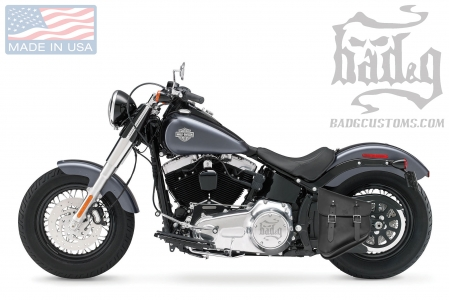 Softail Hardtail Left Solo Bag SHL01