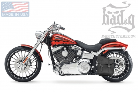 Softail Hardtail Left Solo Bag SHL02