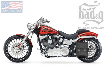 Softail Hardtail Left Solo Bag SHL04