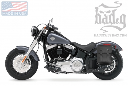 Softail Hardtail Fender Mount Solo Bag SHL04F